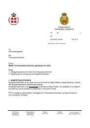 Hovedskr Kompetencefonden - Hovedorganisationen af Officerer i ...