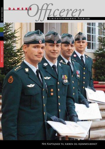 Nye Kaptajner til hæren og hjemmeværnet - Hovedorganisationen ...