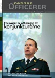 konjunkturerne - Hovedorganisationen af Officerer i Danmark