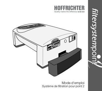 filtersystempoint 2 FRA_2013-03-18_01.indd - Hoffrichter