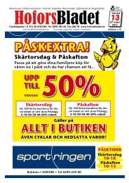 Vecka 13, 27/3 - Hoforsbladet