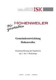 3. Visionskandidaten - Hohenweiler
