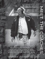The Coaches - HokieSports