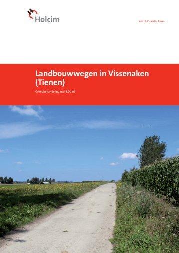 Landbouwwegen in Vissenaken (Tienen) - Holcim