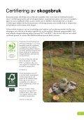 Certifierad skog enligt FSC och PEFC - Holmen - Page 3