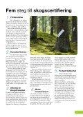 Certifierad skog enligt FSC och PEFC - Holmen - Page 7