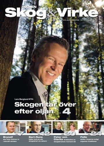 Skogen tar över efter oljan 4 - Holmen