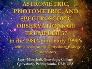 Astrometric, Photometric, and Spectroscopic Observations of ...