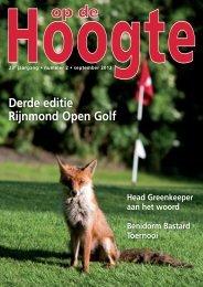 2012 - 2: september - Hooge Bergsche Golfclub