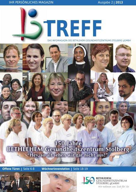 IHR PERSÖNLICHES MAGAZIN Ausgabe 2⎥ 2013 - Bethlehem ...