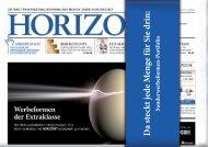 HORIZONT Ad Specials 2013