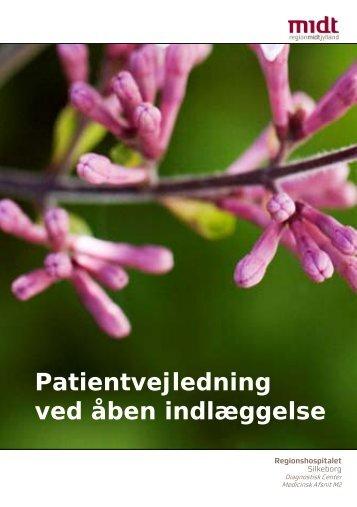 Patientvejledning ved åben indlæggelse - Hospitalsenhed Midt