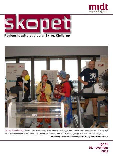 personaleblad for Regionshospitalet Viborg, Skive, Kjellerup