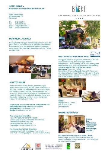 Hotel Birke Image Sheet - Hotel Birke Kiel