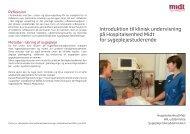 Introduktion til klinisk undervisning på Hospitalsenhed Midt for ...