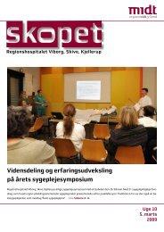 skopet uge 10 / 2009 - Hospitalsenhed Midt