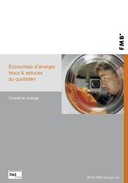 Economies d'énergie :trucs & astuces au quotidien (330 ... - Hausinfo