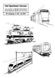 een kolom - Het Openbaar Vervoer / Railnieuws