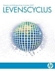 Rapport wereldburgerschap, boekjaar 2007 - HP