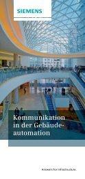 Kommunikationsstandards - Siemens Building Technologies