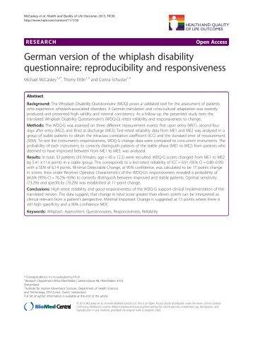 whiplash disability questionnaire fax landmark healthcare