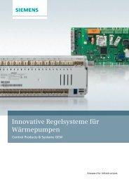 Innovative Regelsysteme für Wärmepumpen - Siemens Building ...