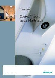 Eyetec Broschuere_de.qxd - Siemens Building Technologies
