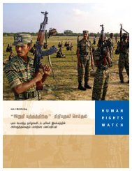 Download this report in Tamil - Human Rights Watch