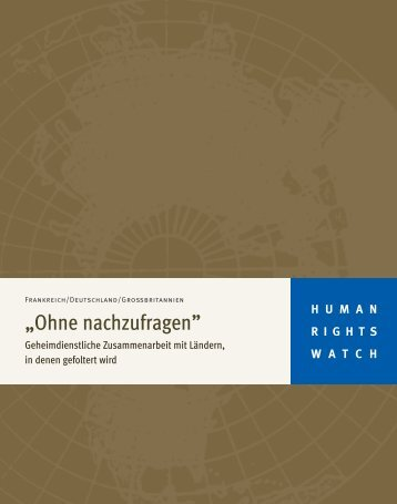 Download report - Human Rights Watch