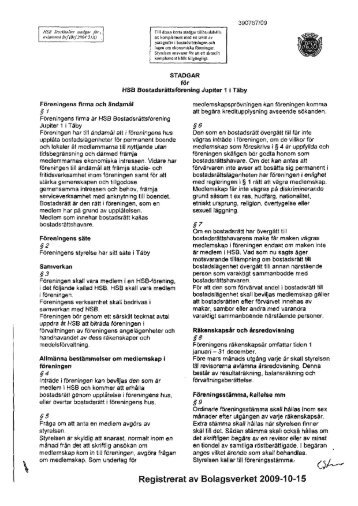 stadgar 2009.pdf - HSB