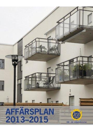 HSB Sydost Affärsplan 2013-2015