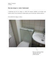 Hur man stänger av vattnet i badrummet - HSB