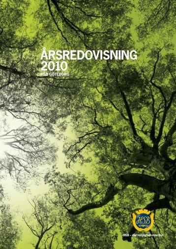 HSB GötEBORG ÅRSREDOVISNING 2010