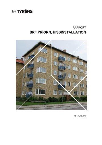 Hissutredning - HSB