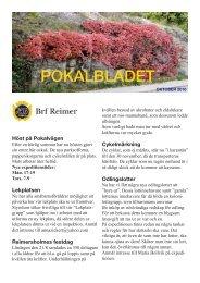 Pokalbladet 3 2010 - HSB