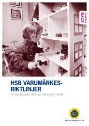 HSB Varumärkesriktlinjer