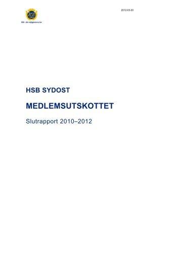 Medlemsutskott - HSB