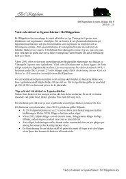 Vård och skötsel av ligusterhäckar i Brf Räppehem - HSB