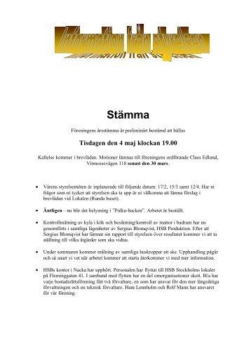 Infobladet Februari 1999.pdf - HSB