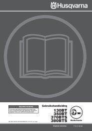 OM, 130 BT, 350 BT, 370 BTS, 380 BTS, 2010-01 - Husqvarna