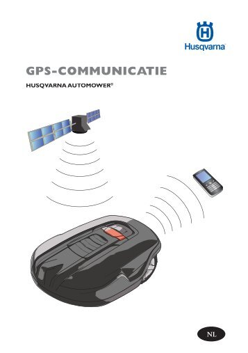 OM, Automower, GPS-Communicatie 2011, 2011-02 - Husqvarna