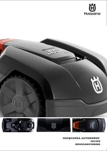 OM, Automower, 305, 308, 2013 - Husqvarna