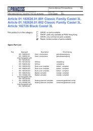 Article 01.182626.01.001 Classic Family Castel 3L. Article ...