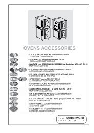 OVENS ACCESSORIES