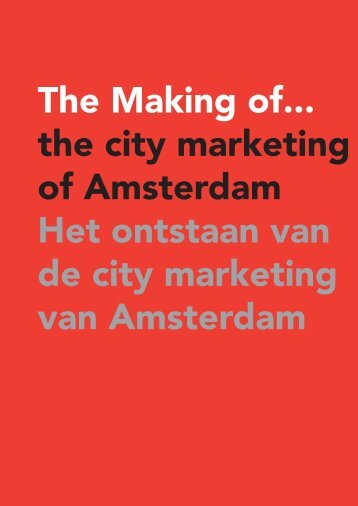 citymarketing 5 - I amsterdam