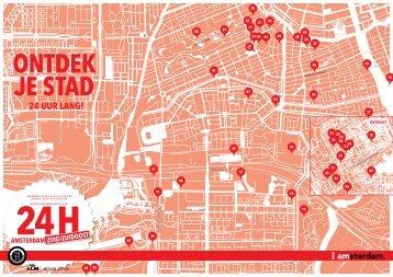 24H Zuid/Zuidoost plattegrond - I amsterdam