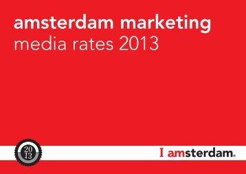 Media rates 2013 - I amsterdam