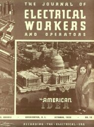 T - International Brotherhood Of Electrical Workers
