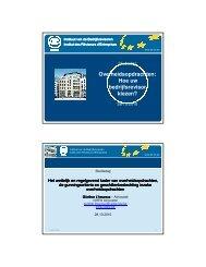 Het wettelijk en regelgevend kader van overheidsopdrachten ... - IBR