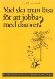 1981 - Vad ska man läsa för att jobba med datorer.pdf - IDA